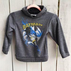 Batman Gray Kids Hoodie